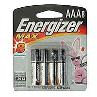 Kmart Deal: 8-Pack Energizer Max AAA Alkaline Batteries - $0.93 @ Kmart Local Ad - YMMV - (other Energizer 50% off battery deals provided)