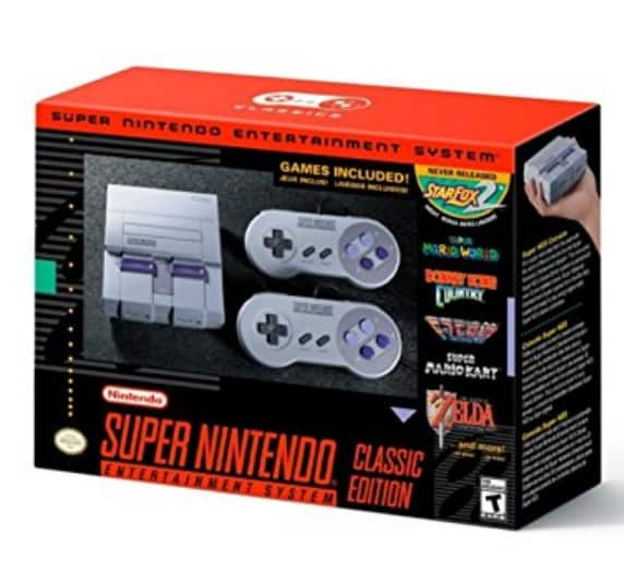 SNES Classic - $79.99 @ Amazon