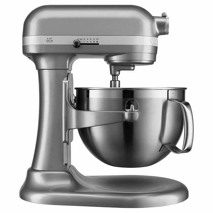 costco kitchenaid kp26m9x 590w 6 qt professional bowl lift stand mixer 225 tax free
