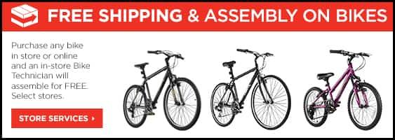Sports Authority Trayl Mens & Womens TRAYL Hybrid Bikes for $144
