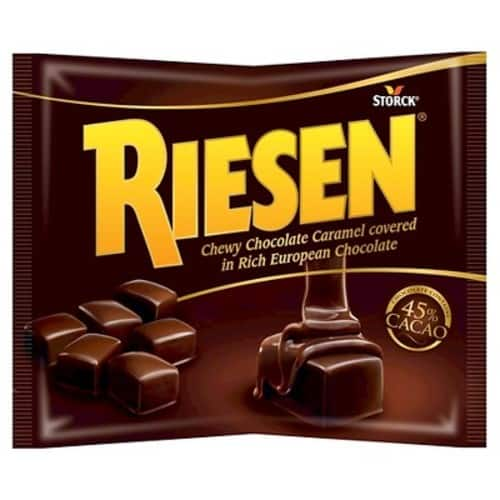 9 oz. Riesen Chewy Chocolate Caramels $2