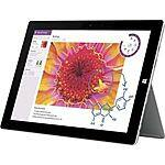 New Microsoft Surface 3 128GB SSD 4GB RAM via eBay $529