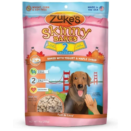 Zuke's Skinny Bakes Dog Treats [Yogurt & Maple Syrup] $2.66