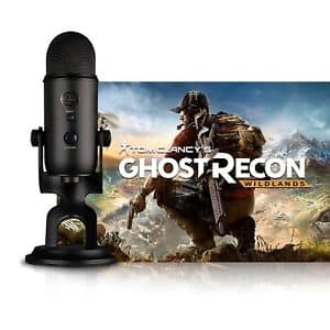 Tom Clancy's Ghost Recon Wildlands ($60 Value) + Yeti Blackout Mic ($129 Value)  $99.99 on eBay