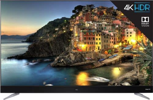 """TCL 55"""" 4K Ultra HD HDR Roku Smart TV w/ Voice Search Remote $449.99"""