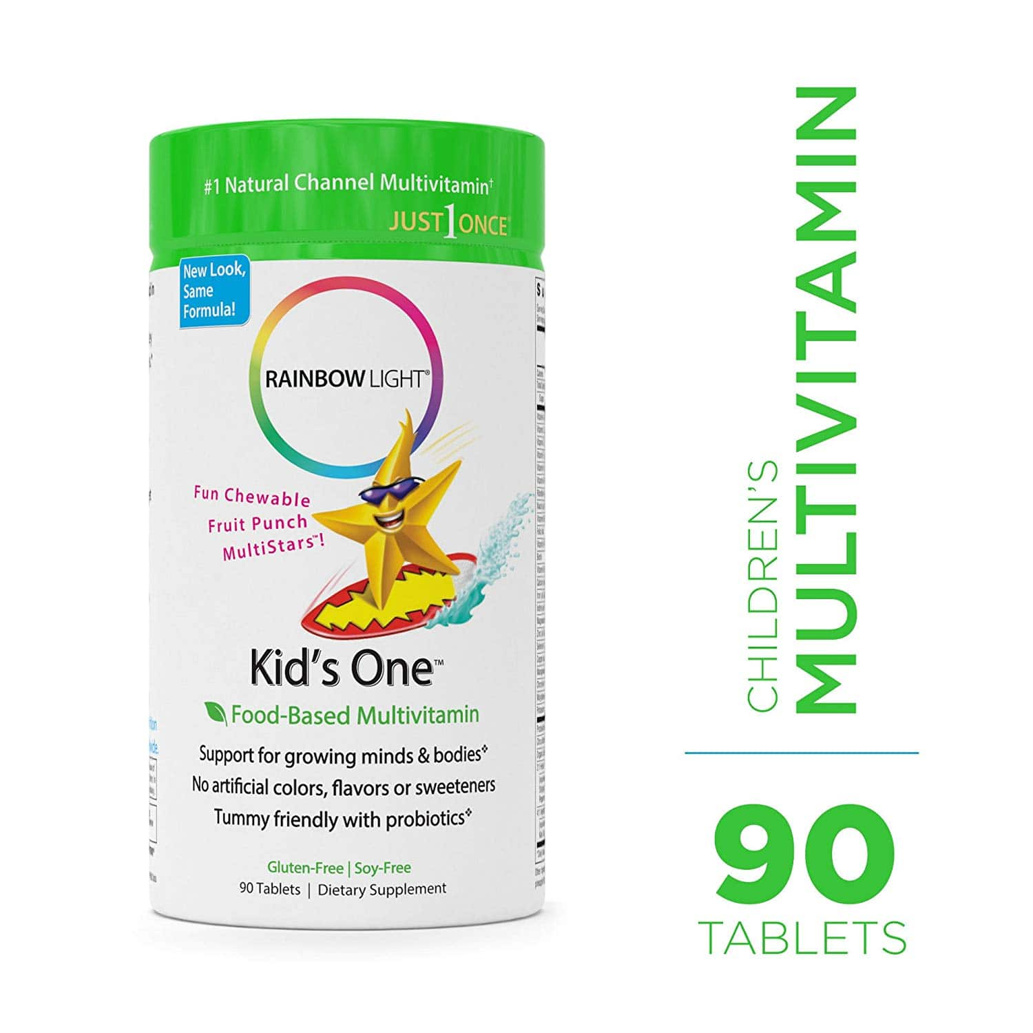 Rainbow Light Kid's One Multivitamin/Mineral - 90 Tabs $13.74