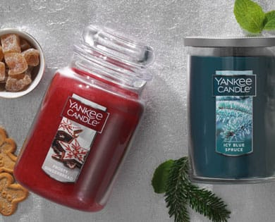 Yankees Candle 2+ candles at $3.49 each for large Tumblers and Jar Candles