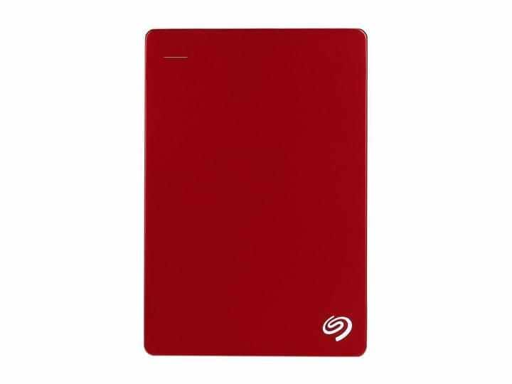 Seagate Backup Plus 4TB USB 3.0 Portable External Hard Drive with Mobile Device Backup Model STDR4000902 (Red) $106.99