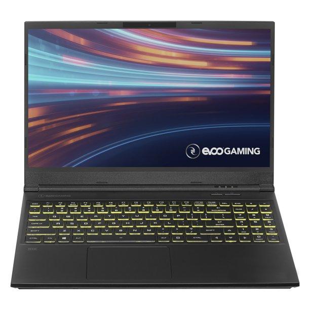 EVOO Gaming 15 Laptop: 1080p, i5-10300H, 8GB DDR4, 256GB NVMe, GTX 1650 4GB $549 + Free Shipping