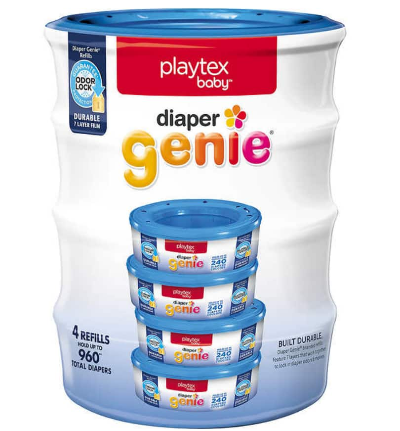 Costco Diaper Genie refill (YMMV) 4 pack for $11.99 ($8 off)