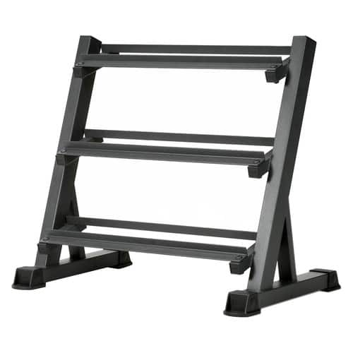Marcy 3-Tier Dumbbell Rack Multilevel Weight Storage Organizer for Home Gym $67.94