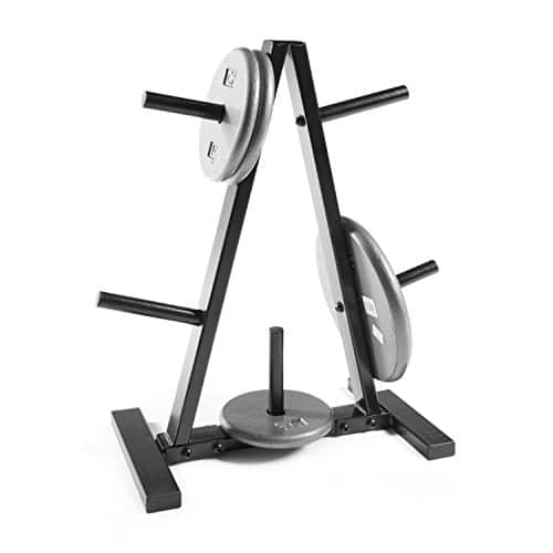 "CAP Barbell Tree Storage Rack for 1"" Weight Plates $34.49"