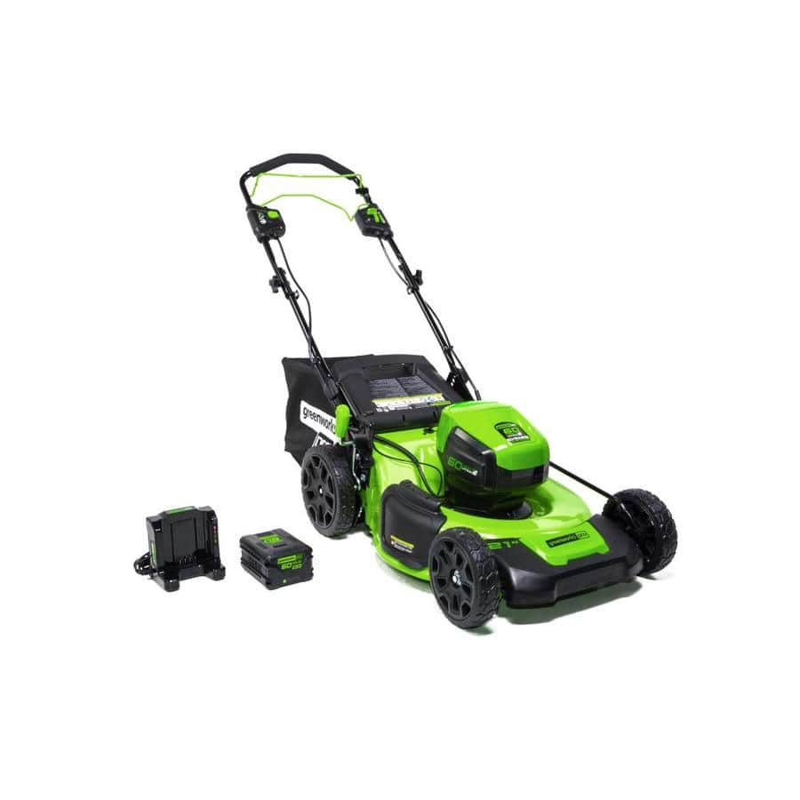 Greenworks 60-volt Brushless Lithium Ion 21-in Self-Propelled Cordless Electric Lawn Mower (Battery Included) - $159 YMMV