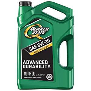 5-Quart Quaker State 5W-20 Advanced Durability Motor Oil