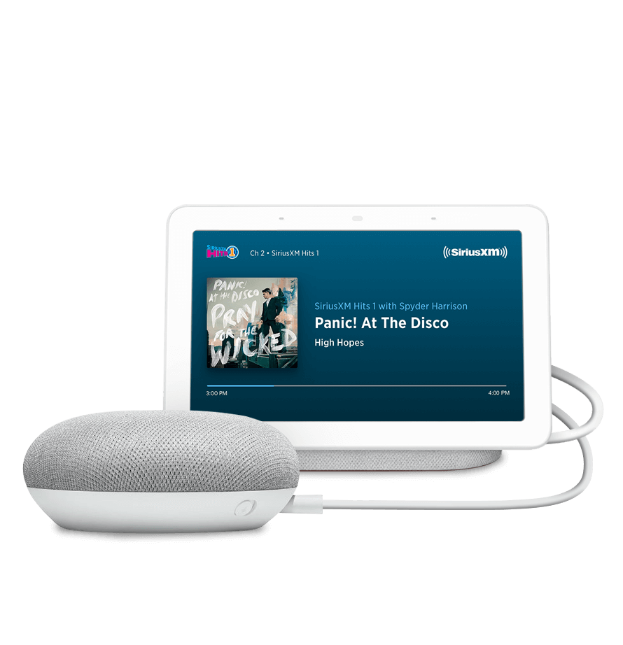 Siriusxm 3 Month Free Trial if you have a Google Home Device