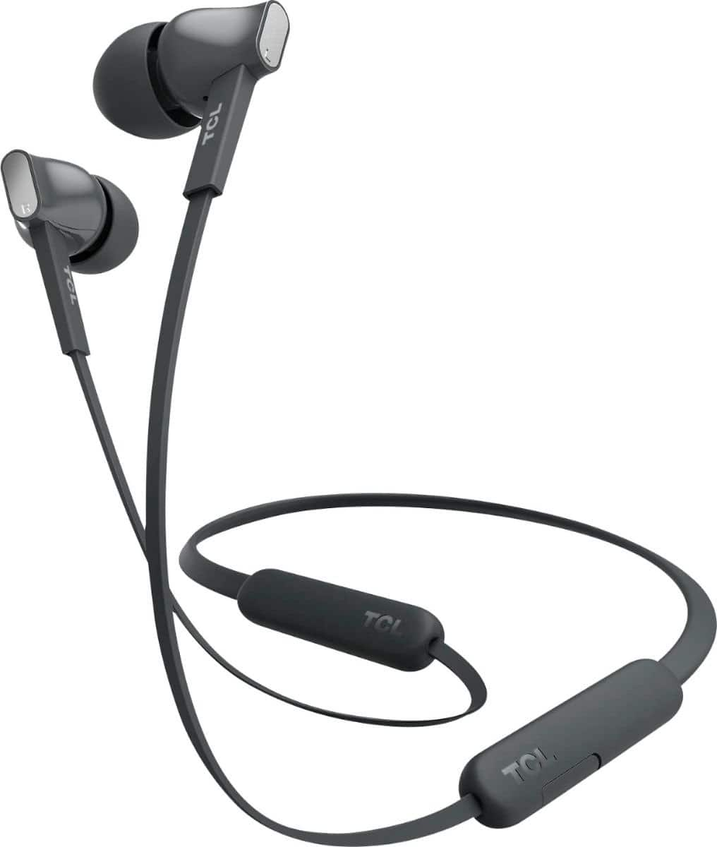 TCL - MTRO100BT Wireless In-Ear Headphones - Shadow Black $19.99