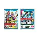 Refurbished Super Mario World 3D for $30 or less -$20 for me YMMV- other deals (PS TV, Wii Fit, etc)