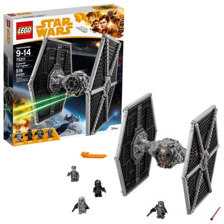 even more Lego YMMV Walmart in-store clearance -- 519 piece tie fighter $12