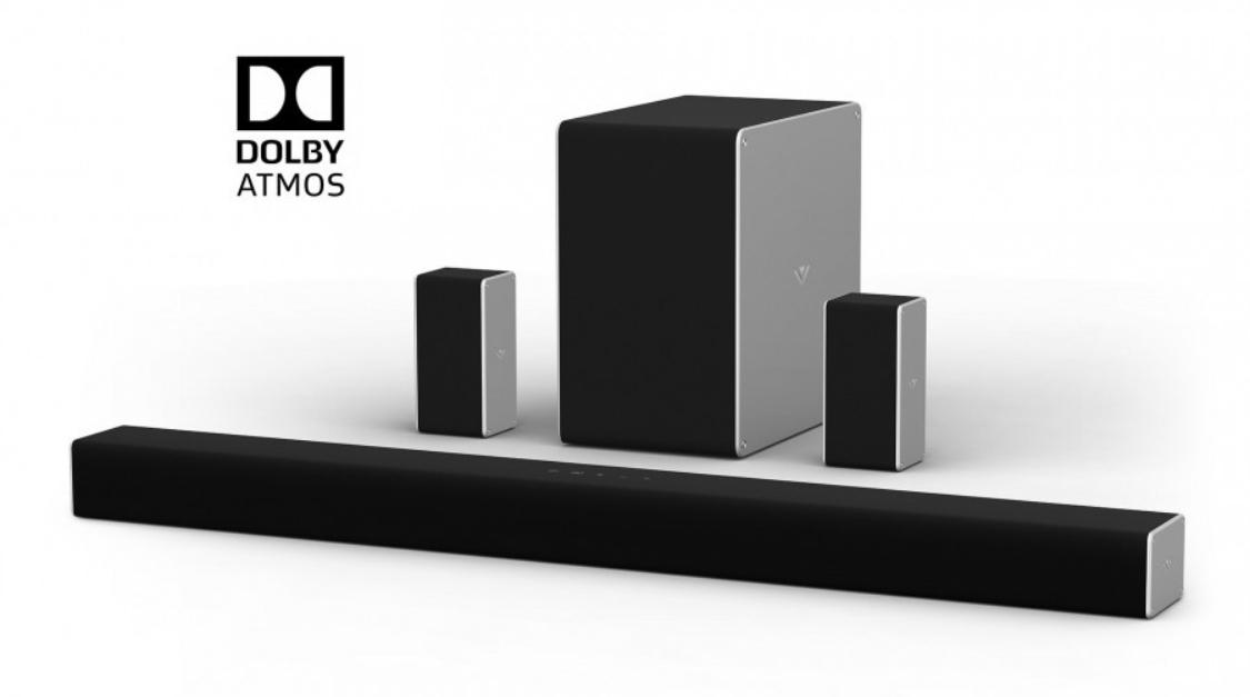 Vizio SB36514 - 9 Channel (5.1.4) Dolby Atmos Soundbar - $499