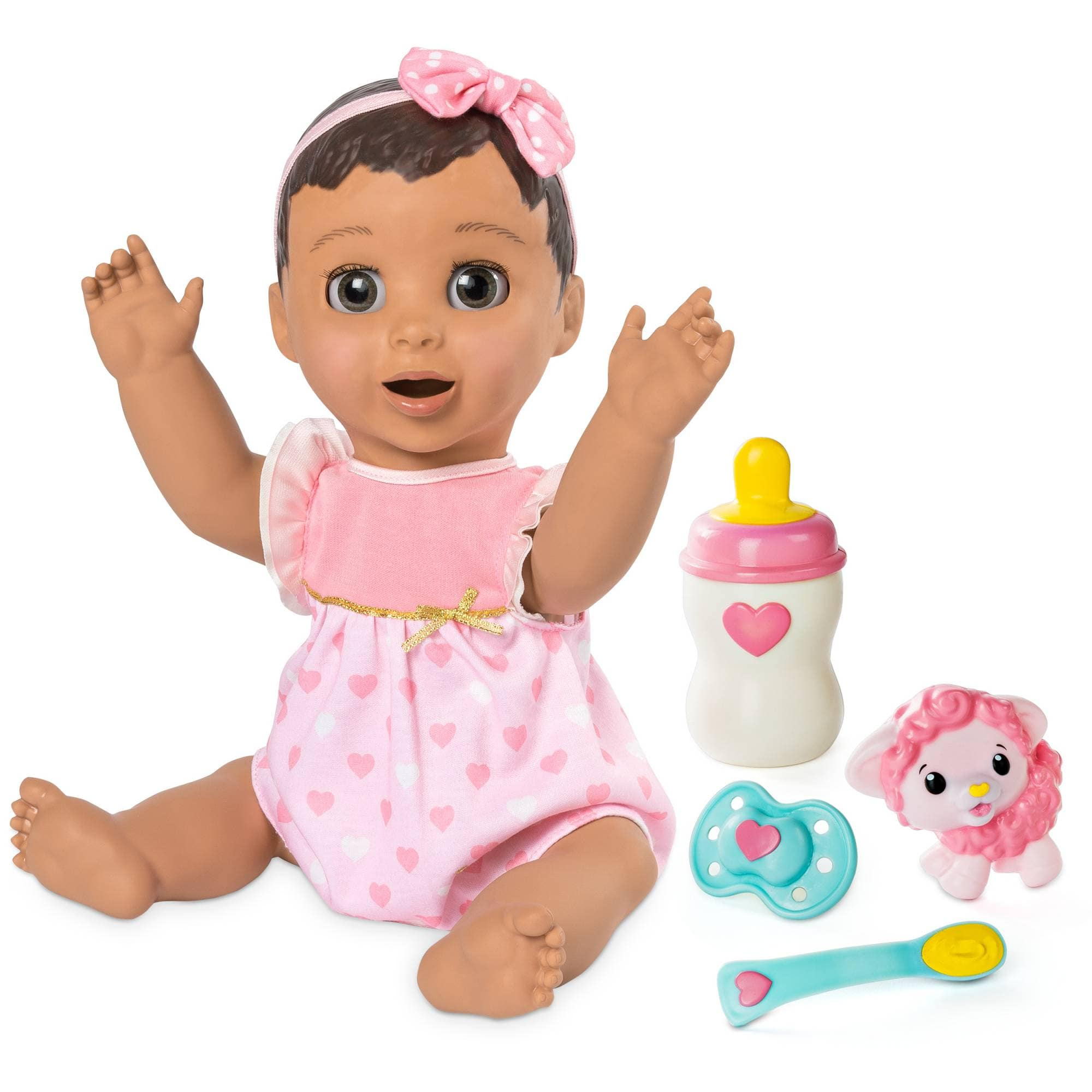Luvabella Dolls African, Brunette and Blonde  on sale for 89.99 + Tax  -10 dollar coupon + free shipping target ymmv store pickup +