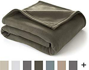 Martex Super Soft Fleece Blanket Twin - Basil $14.99