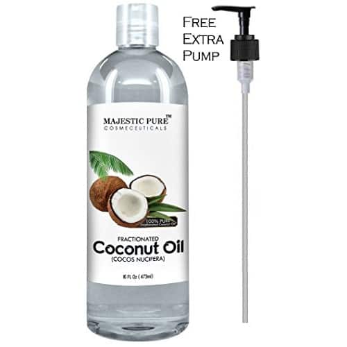 Majestic Pure Fractionated Coconut Oil $11.95 + Free Shipping