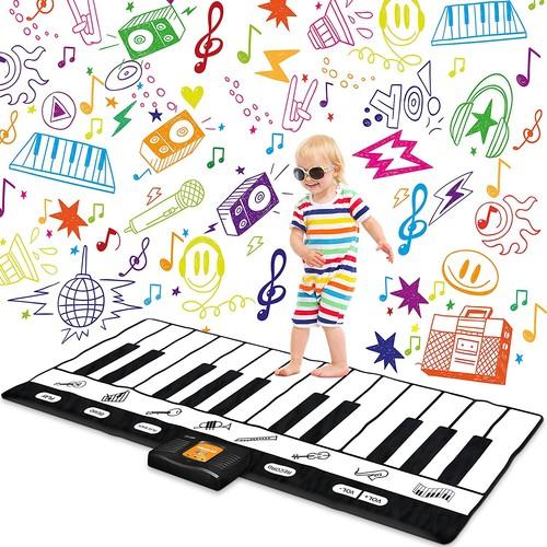 """Keyboard Playmat 71"""" - 24 Keys Piano Play Mat - Piano Mat has Record, Playback, Demo, Play, Adjustable Vol. - Original - By Play22 $33.99 + Free Shipping"""