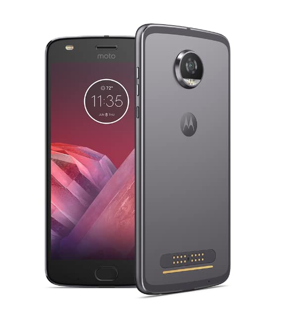 Moto Z2 Play, Unlocked, 64GB, Cyber Gray $199.99