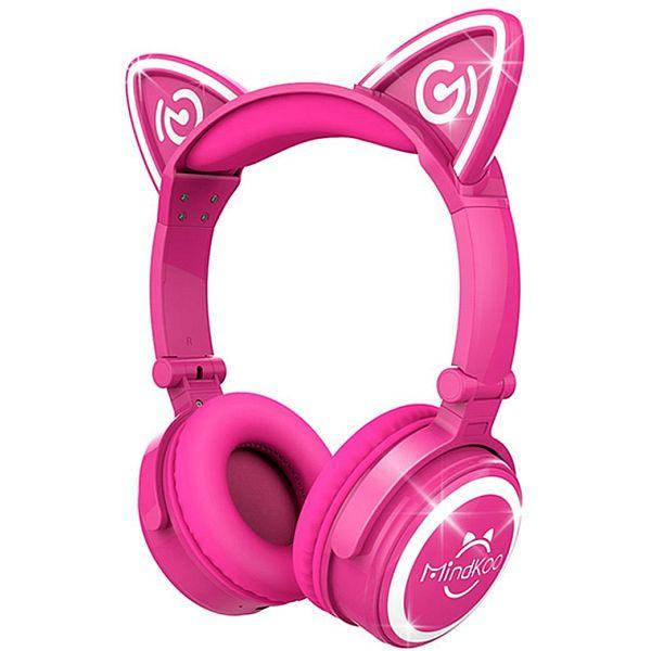 Unicat MH-6 Kids Headphones Cat Ear Bluetooth Headsets $23.39 AC FS @Amazon