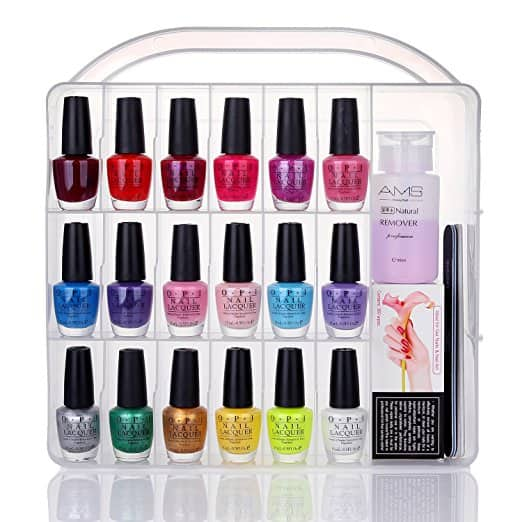 Universal Nail Polish Holder for 36 bottles 16.80 AC + FS w/ prime on Amazon
