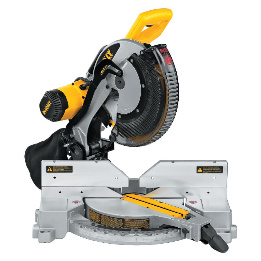 DEWALT 12-in 15-Amp Dual Bevel Compound Miter Saw  @ lowes 259 After 40 off 200 coupon DW716