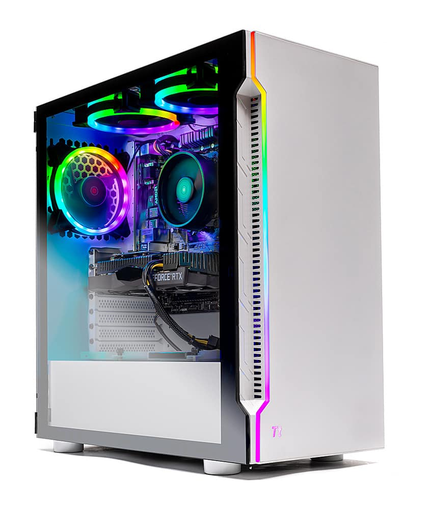 Skytech Gaming Archangel Gaming Desktop AMD Ryzen 7 3700X 16GB Memory NVIDIA GeForce RTX 2060 1TB SSD White ST-ARCH3.0-0091-BBY | $999