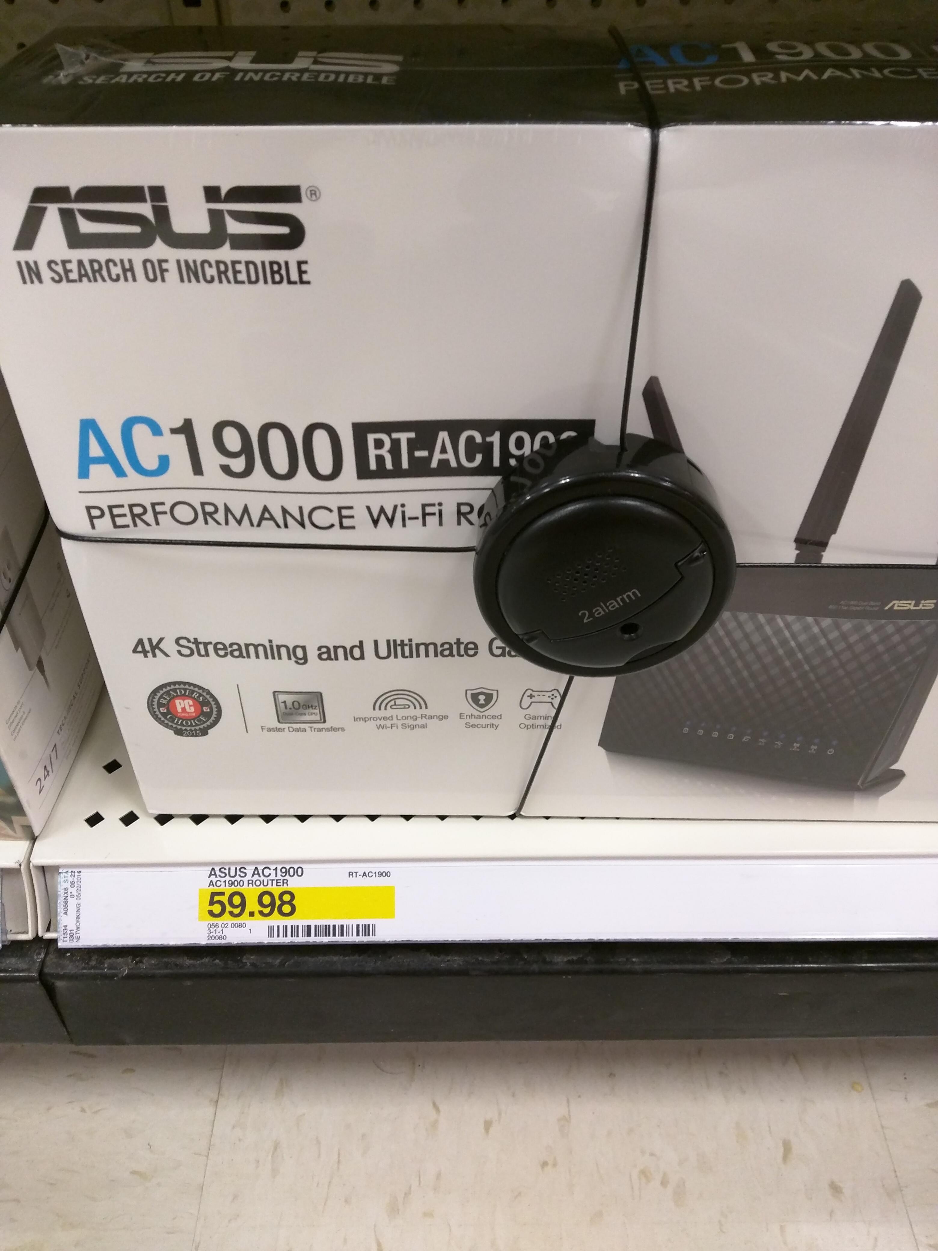 Target Asus RT-AC1900 (RT-AC68U) $59.98 HUGE YMMV
