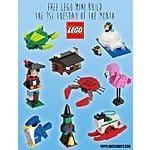 Registration LIVE for October LEGO mini-build