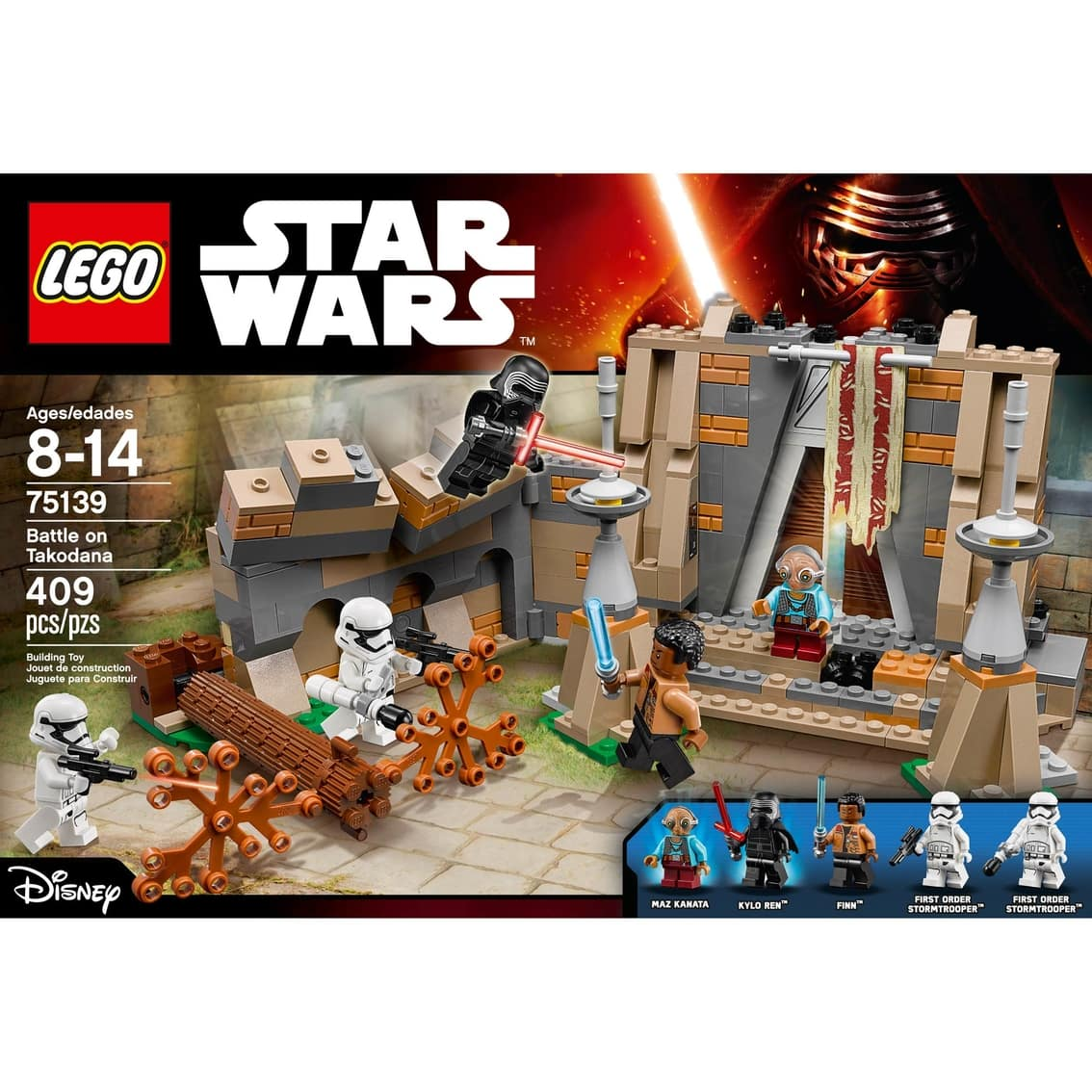 STAR WARS LEGO 75139 – 409 pieces for $14.95 on Military Exchange (75148 - $23.95) Plus $4.95 shipping $19.9