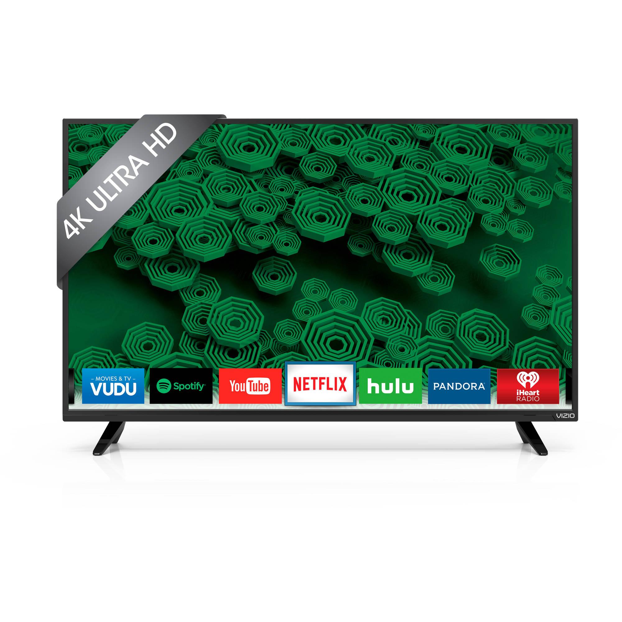 YMMV: Vizio 40 inch 4K Ultra Smart HDTV Walmart instore $200
