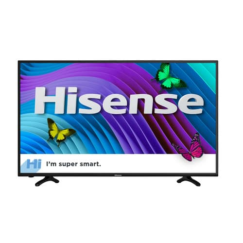 YMMV: HISENSE 43 INCH 4K SMART TV for $100 WalMart B&M