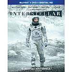 Interstellar Blu-ray + DVD + Ultraviolet $14 with Promo Code or $15 without - Fry's electronics