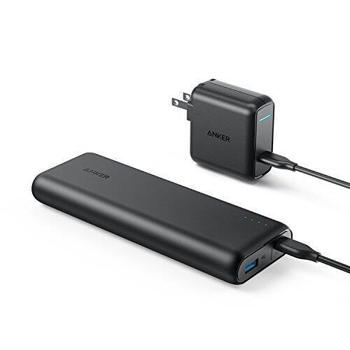 [Power Delivery USB C] $79.99 Anker PowerCore Speed 20000 PD, 20100mAh Portable Charger & 30W Power Delivery Wall Charger Bundle @ Amazon