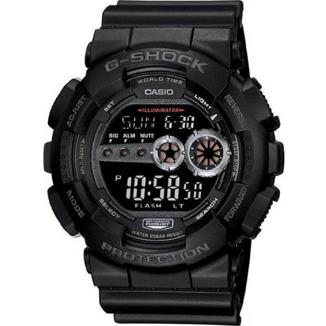 Casio G-Shock GD100-1B Military Watch $57.99 Free Shipping