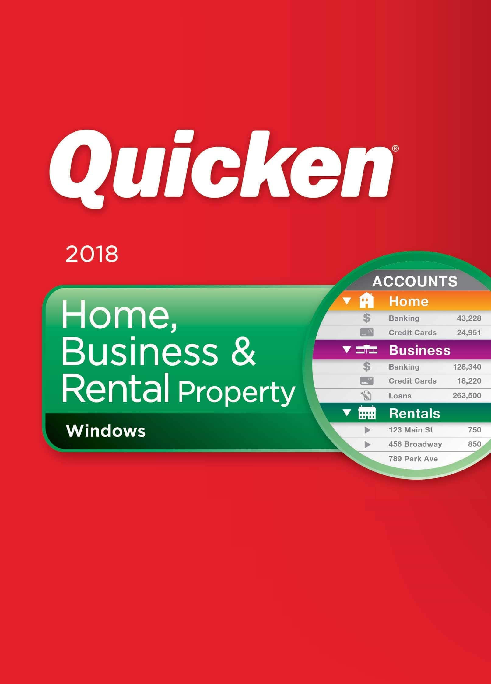 Quicken Deluxe 2018 $29.99 Quicken Premiere 2018 $45.99, Home and Business $59.99