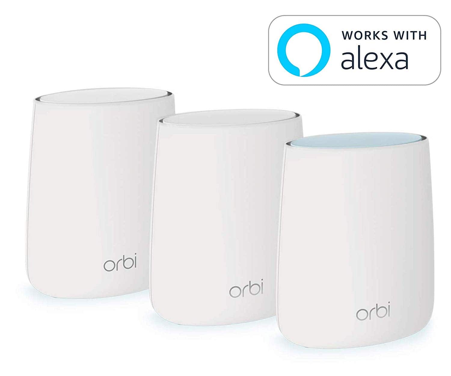 Netgear Orbi RBK23 Mesh WiFi System - WiFi router and 2 satellite extenders $209.99