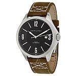 Hamilton Khaki Aviation Watch - Swiss Mechanical Automatic - Sapphire With Leather Strap - $318 REG $795 + FREE SHIPPING