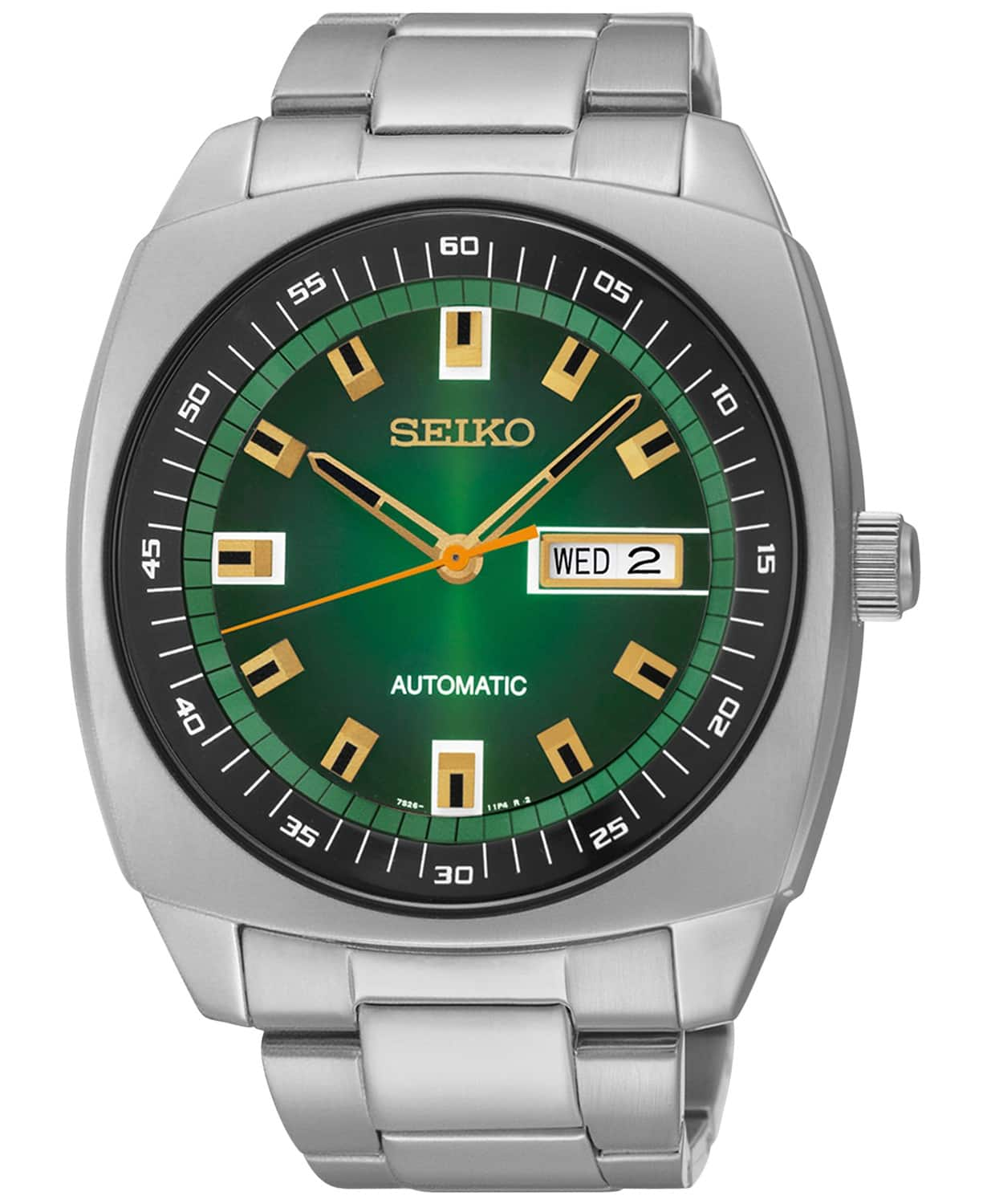 Seiko Recraft Mens Stainless Steel Automatic Watch $106.25