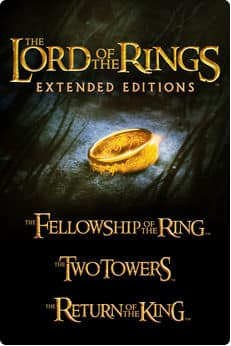 The Lord of the Rings: Extended Editions Bundle (Digital HD) at iTunes for $24.99