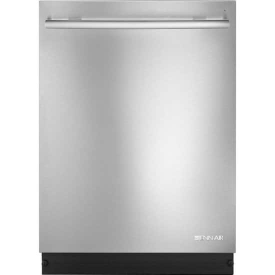"""JennAir - Euro-Style TriFecta 24"""" Top Control Built-In Dishwasher with Stainless Steel Tub - $489.99"""