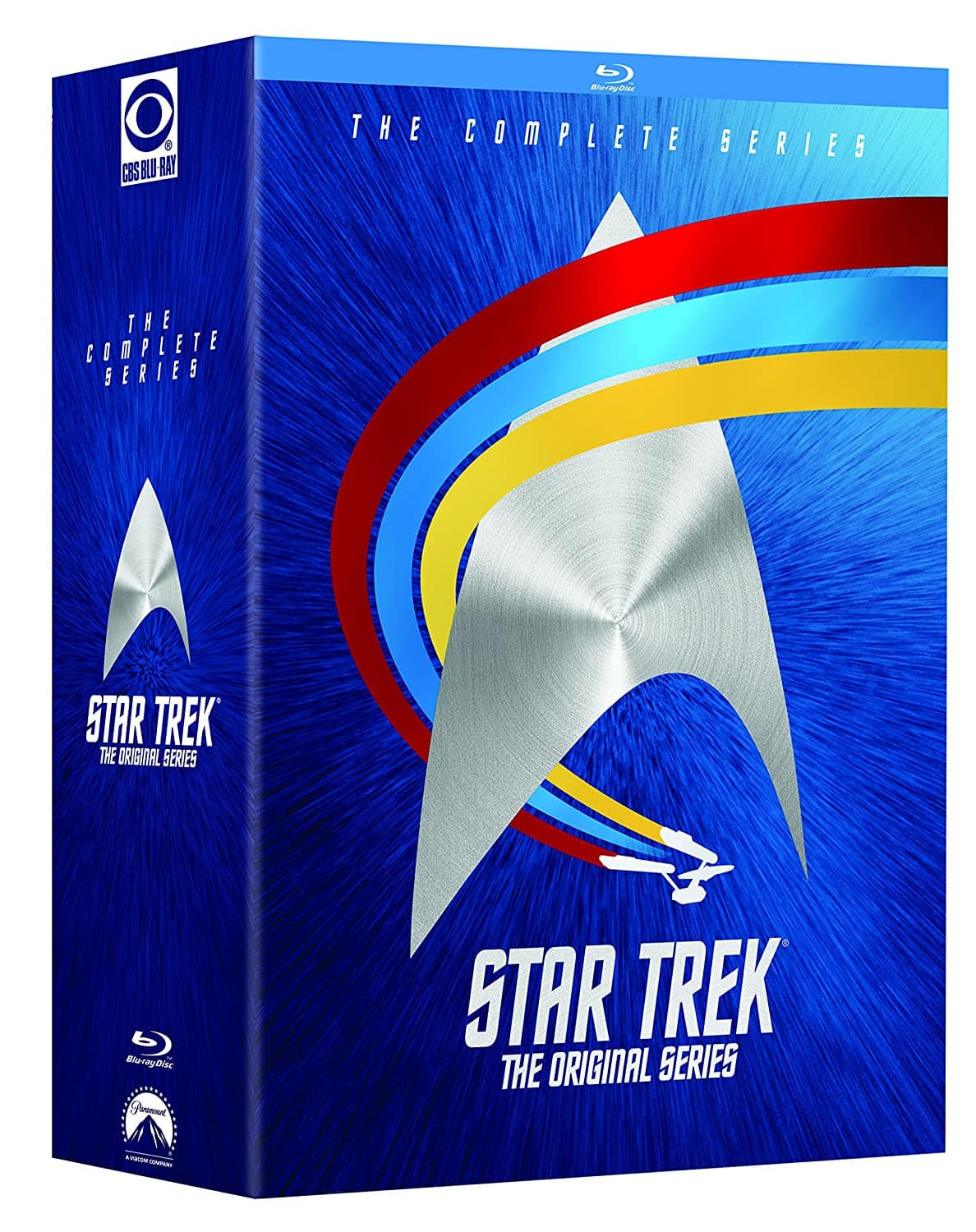 Star Trek: The Original Series - The Complete TV Series on Blu-ray for $59.36