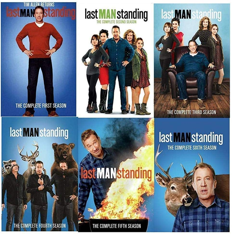 Last Man Standing: Seasons 1-6 Digital HDX (Complete Series from ABC Network) - $29.99