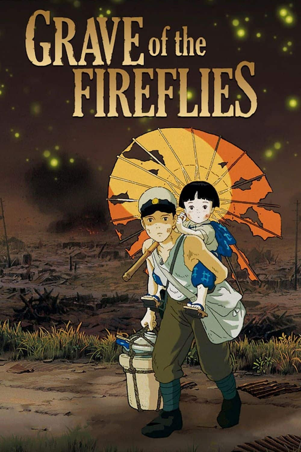 Grave of the Fireflies (Digital HD Film - Dubbed Version) $5