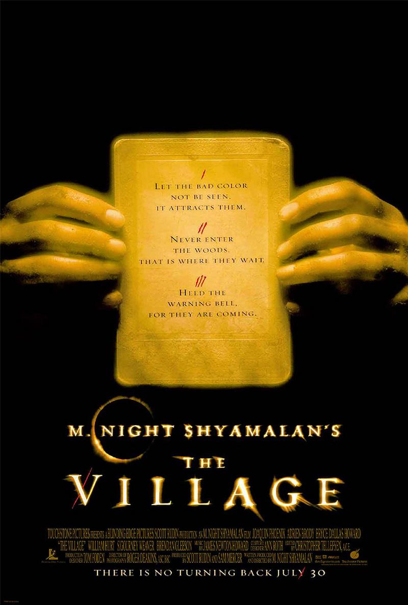 The Village - M. Night Shyamalan - Digital HD Film for $4.99 on Vudu (MA)